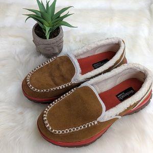 Khombu weekends brown suede shoes
